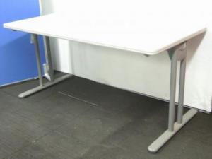 【1台入荷!状態良好!】 ミーティングテーブル | ニューグレー | ウチダ UCHIDA | T字脚 | サイズW1500 D750 H700 | 数量一台 |(中古)
