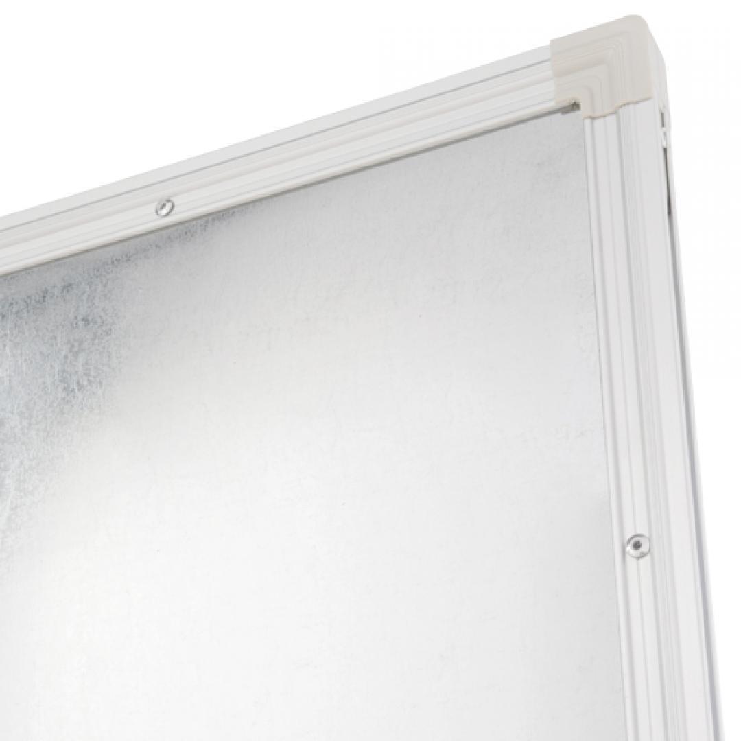 L型脚ホワイトボード/片面無地W1800【半自立】