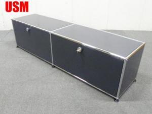 USMハラー 2列1段TVボード アントラサイト
