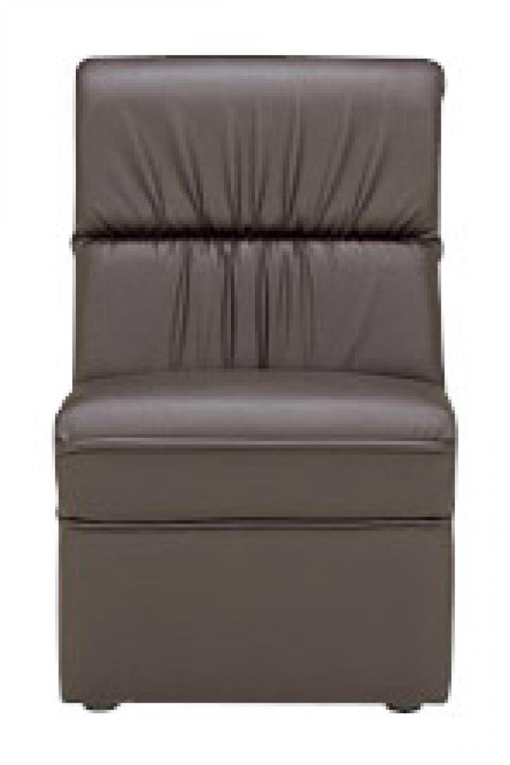 【コーナーに華を】応接用 コーナータイプ ビニールレザー張り 肘なしチェア|プリーダ_1