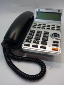 SAXA製 デザイン性が売りの【18ボタン標準電話機(K)】 少人数事務所の方におススメ
