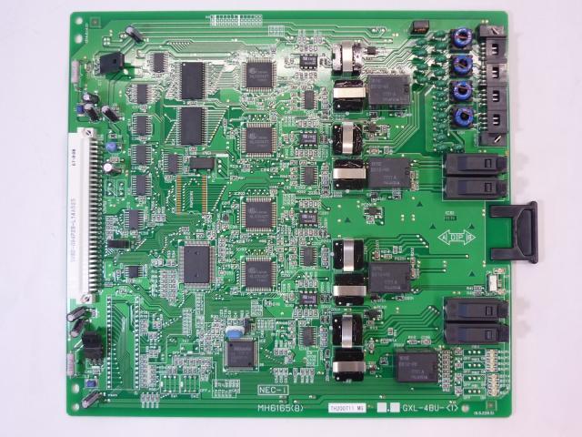 【NTT】製 αGXシリーズ GXL-4バス内線ユニット-「1」 αGXLに収容可