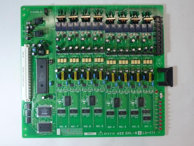 【NTT】製 αGXシリーズ GXL-8単体電話機ユニット-「1」 αGXLに収容可