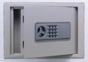 エーコー 壁埋込型保管庫(非耐火) テンキー式 WS-A4PHN 18kg