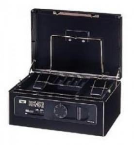 エーコー 手提金庫 カードロック式+ダイヤル式 HK-56 4.0kg
