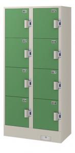 エーコー コインロッカー(2列4段8人用) JC-2408 71.8kg
