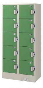 エーコー コインロッカー(2列5段10人用) JC-2510 75.5kg