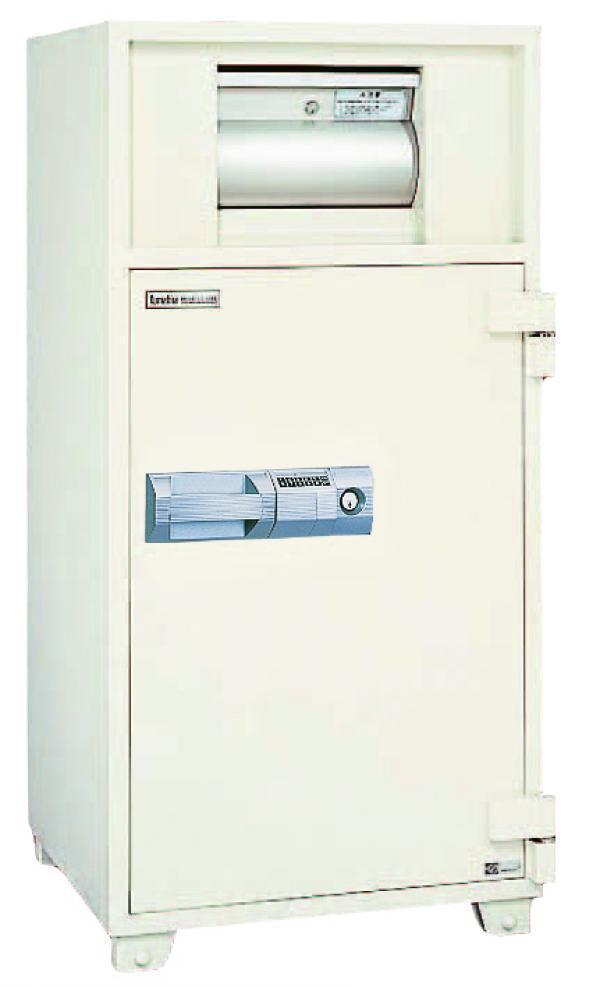 クマヒラ 投入式耐火金庫 ダイヤル式 DS-21b 685kg|OFFICE SAFE 投入式耐火金庫