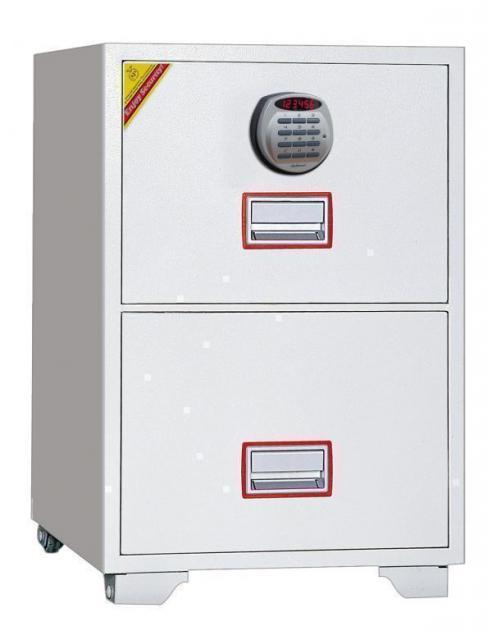 ディプロマット 警報機付き耐火キャビネット テンキー式 DFC2000R3 145kg