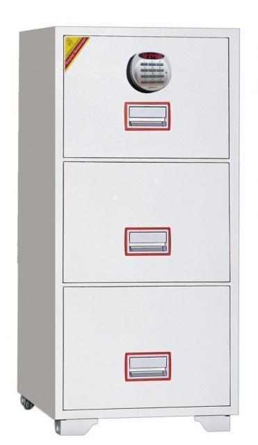 ディプロマット 警報機付き耐火キャビネット テンキー式 DFC3000R3 206kg
