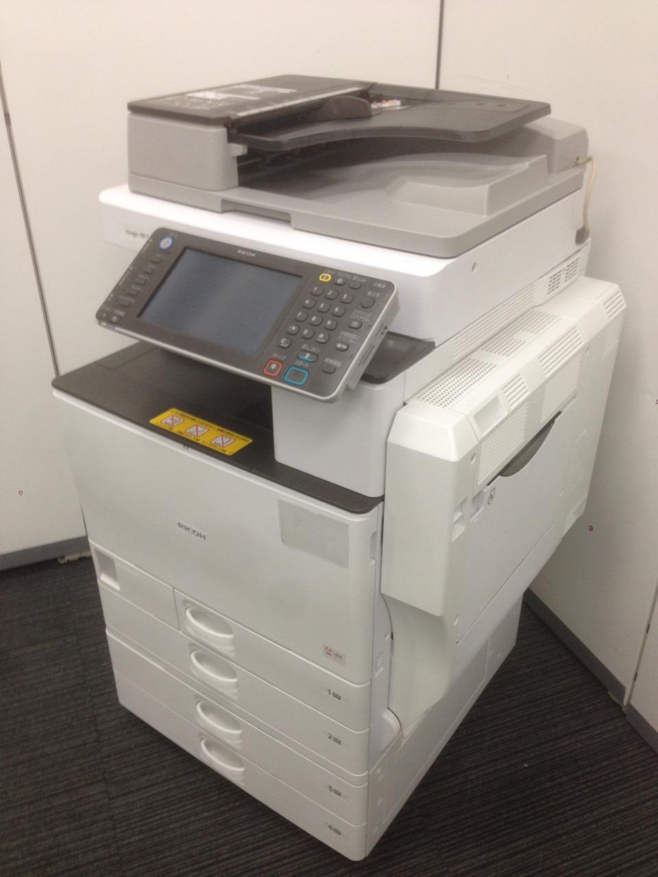 【おつとめ品】2012年発売のカラーコピー機、リコー(RICOH)のMPC2802、1台限定でカラー複合機がこの価格で!|imagio MP(中古)