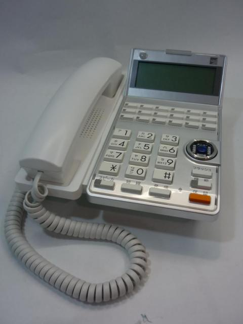 【18ボタン標準電話機(WH)】 サクサ(SAXA) 【アグレア(Agrea)】 TD615(W)                         Agrea                                     中古