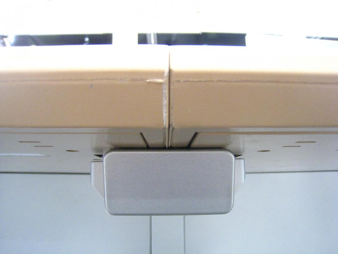 【4名でお仕事】■幅広い2800mmのフリーアドレスデスク■暖かみのあるナチュラル木目!■パネル脚がかっこいい!■|プロユニット[ProUnit](中古)