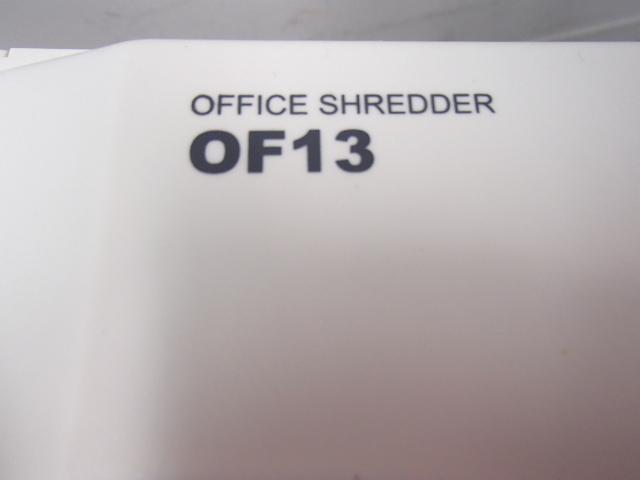 【新品】|オフィスシュレッダー|スリムで使いやすい!|カード・CD細断可能!