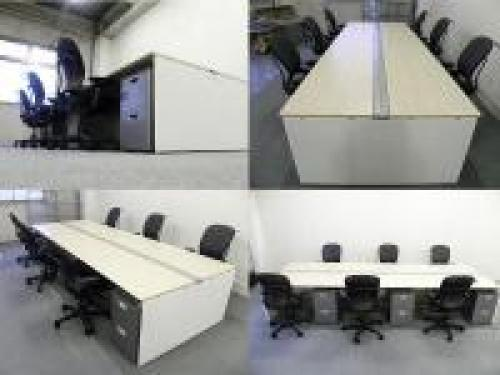 【大量入荷】【WW3600、W5400、W7200の入荷もあるかも】ホワイト天板 オフィス王オカムラ【EVにらくらく入るサイズ】