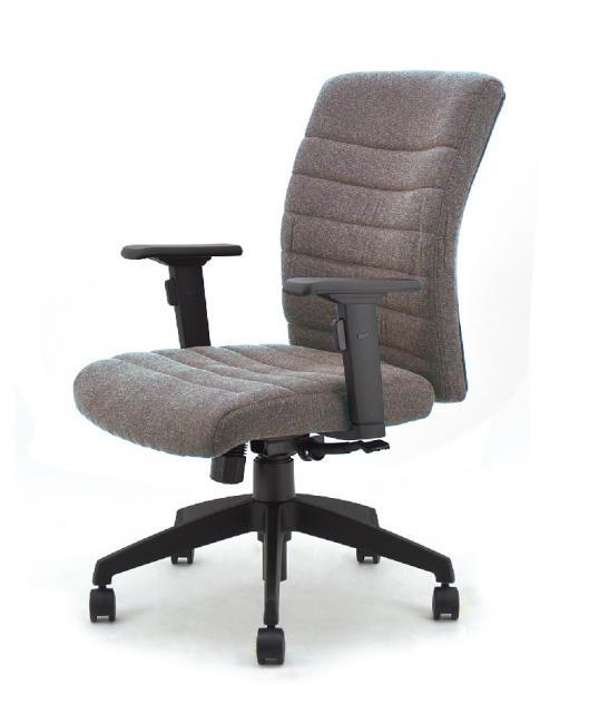 ベーシックなデザインの肘つきチェア! オフィスにも、ご家庭にも、SOHOにも!                         MASオフィスチェア                                     新品