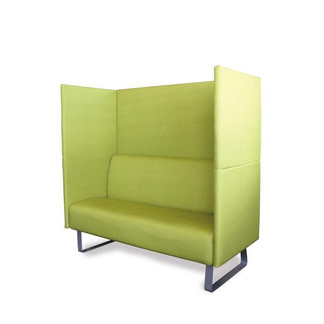 新発想、吸音パネルつきソファー! ポップなグリーンとシックなグレーの2色展開!