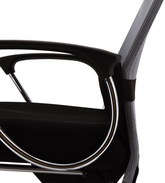 メッシュ リクライニングチェア 収納式オットマンつき 3色展開(背面のみ)                         マッティ                                     新品