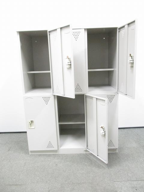 【6人用シューズボックス】有名メーカーの中板付きの靴箱限定1台入荷!中板は取り外し可能ですので広く使う事も可能です!                                                              中古