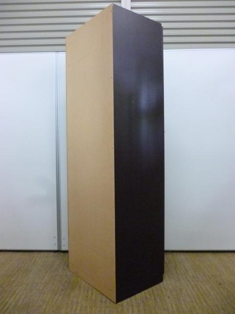 【役員様用】木製のロッカー|高級感のあるダークブラウン                                                              中古