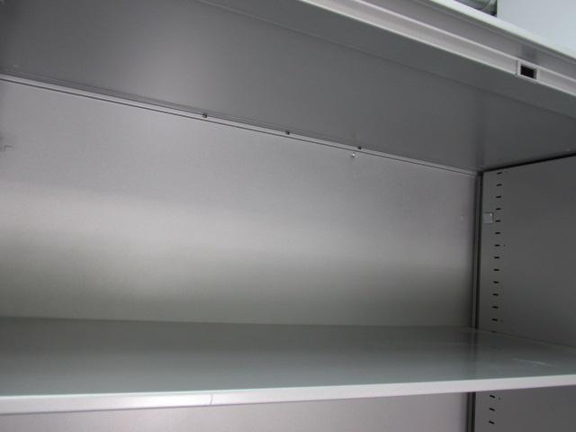 【収納力抜群!】コクヨ製|ユニフレックスシリーズ|上下書庫|H2100|両開き                         ユニフレックス                                     中古