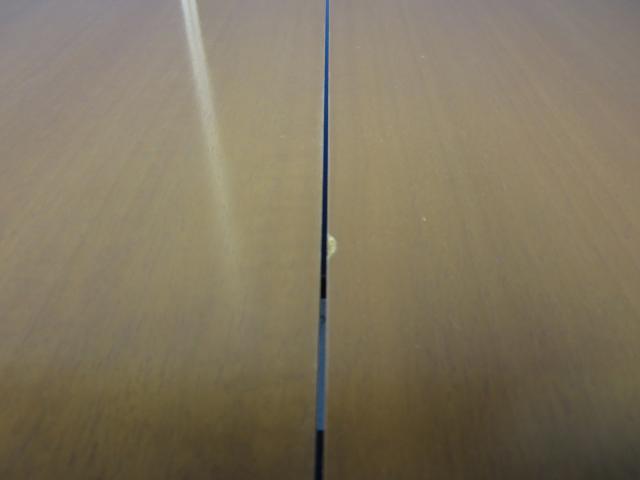 【1台限定!】幅3900mm■8~12名様向け■落ち着いた木目チーク色■配線キャップ・コンセントつきで便利!                                                              中古