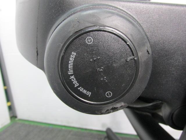 【多機能】スチールケース リープチェア固定肘タイプ                         リープ                                     中古