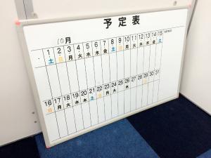 【1か月のスケジュールが記載できる行動予定表】■その他メーカー ■コンパクトサイズ ■フック付き