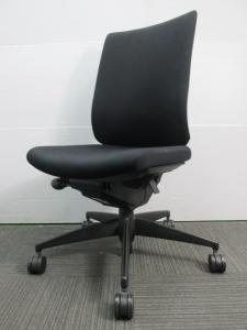 【2脚入荷】コクヨ製|ウィザードチェア|肘無|ブラック|オフィスチェア