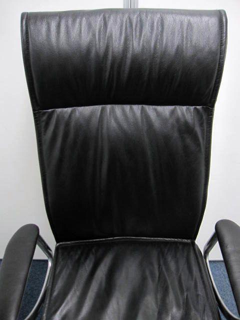 【高級革張り】エグゼクティブチェア オカムラ CE66RX ハイバック 本革:ブラック 【在庫5脚】