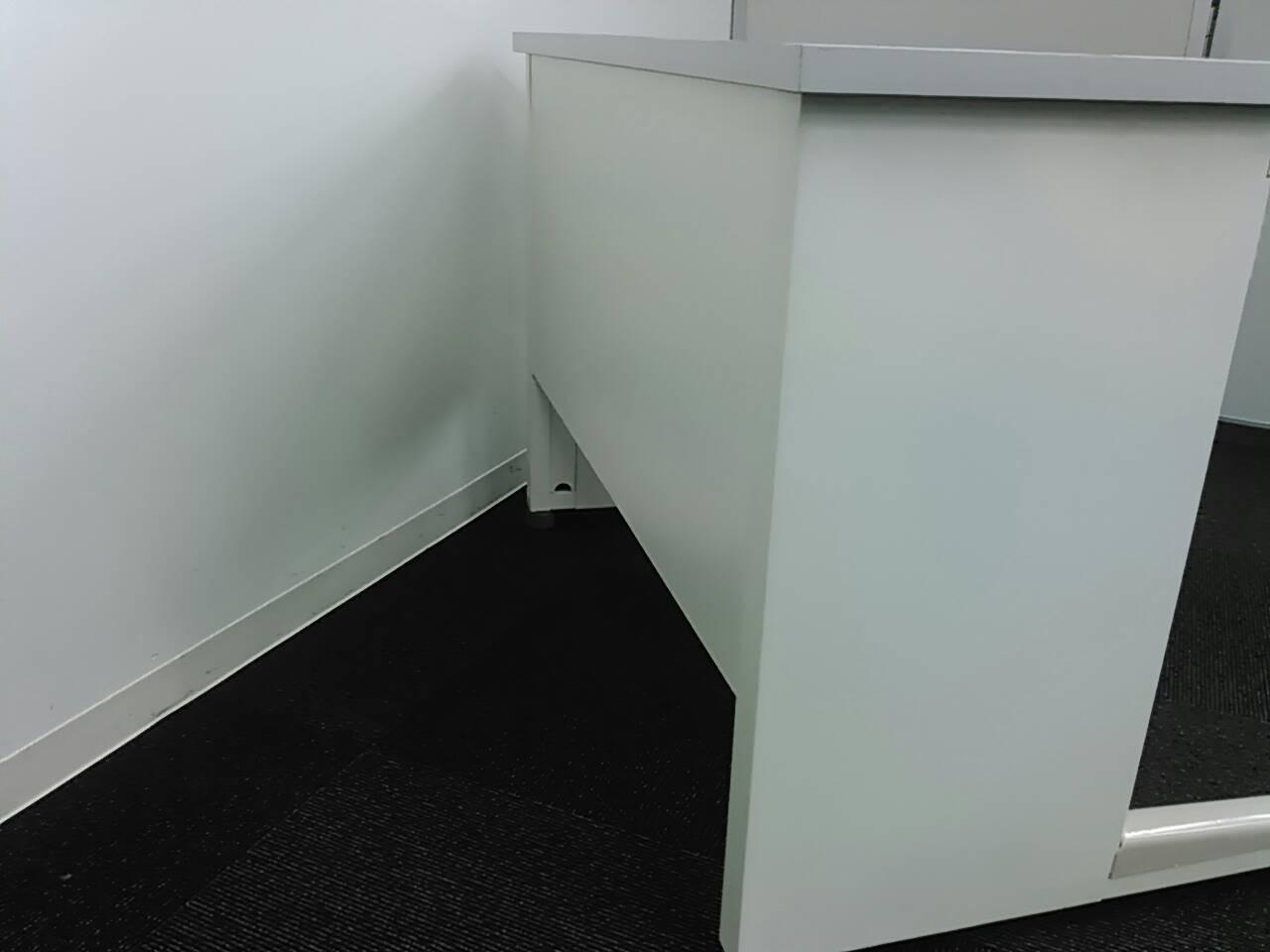オフィスバスターズのオリジナル商品を作っちゃいました! 1000mm平机・センター引き出しなし【ホワイトドラゴン】|ビジネスデスク