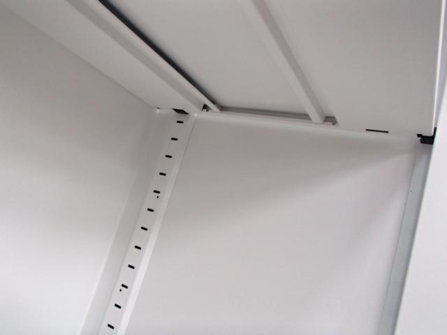 【1台限定・状態良好】ホワイト書庫にナチュラル天板でオシャレオフィスに!                         エディア                                     中古