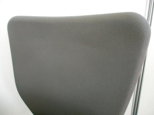 【通常\27000-⇒\24,000-に!】擬似片袖机とチェアのセットです【カラーをグレーで統一してみました!】                                                              中古