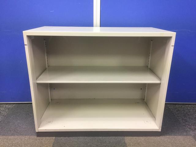 【限定1台】低めのオープン書庫が入荷いたしました。何が収納されているかすぐわかるため便利!                         ビジネスウォールNタイプ                                     中古