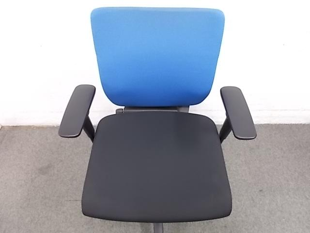 【座面前後機能付き】【スタンダードチェア】【定番!人気!オカムラ!】■中古オフィスチェア(椅子)                         アドフィット                                     中古