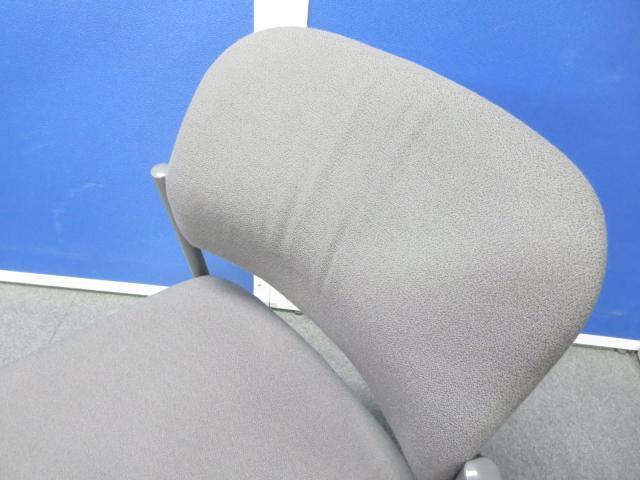 【セットでお得!】■スタッキングチェア6脚セット グレー ■コクヨ製 ミーティングチェア                         100Series (100シリーズ)                                     中古