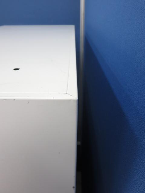 【限定2台】3段ラテラル書庫■綺麗なホワイト■A4ファイル3段収納可能                         HS                                     中古