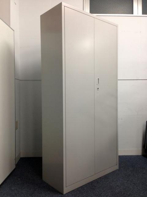 【品薄商品です!5段収納書庫】A4ファイルが5段収納可能|両開き|観音開きキャビネット                         A4判書庫                                     中古