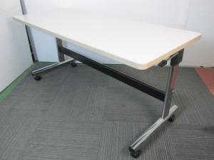 オカムラ サイドスタックテーブル 移動らくらく
