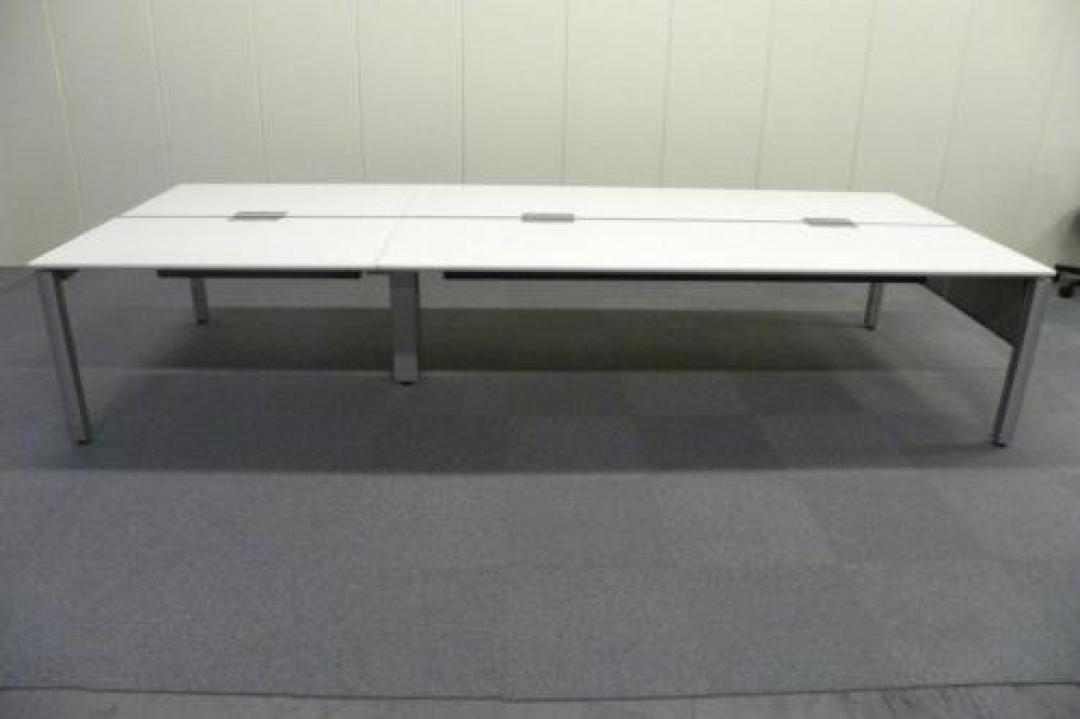 W4000 ホワイト天板■内田製フリーアドレス【フリアド】■空間を有効活用できます!