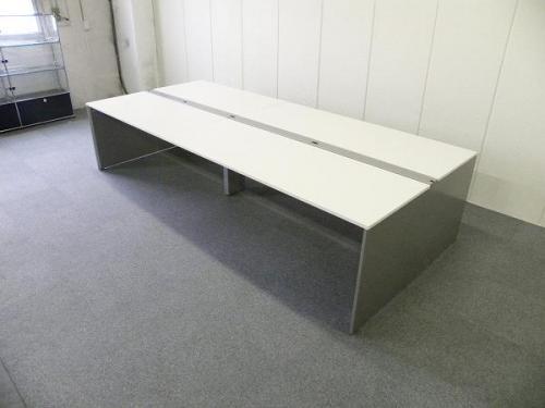 W5400 ホワイト天板■イトーキ製フリーアドレス【フリアド】■空間を有効活用できます|インターリンク[INTERLINK](中古)