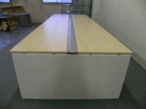 W3000 ナチュラル天板■オカムラ製フリーアドレス【フリアド】■空間を有効活用できます!