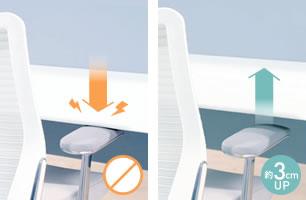 『なぜ、座りながら仕事をするのか?』オカムラ上下昇降デスク■健康を考えた、デスク|Swift