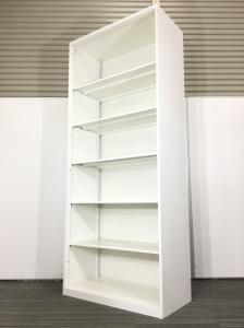 【人気商品】ホワイト オカムラ レクトラインシリーズ!大量収納可能なオープン書庫入荷致しました!