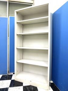 【訳ありにつきお勤め価格!】高さ1790mmのオープン書庫■5段仕様