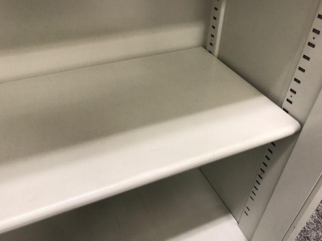 【1台入荷】奥行浅めでSOHOに人気のオープン書庫!!(中古)