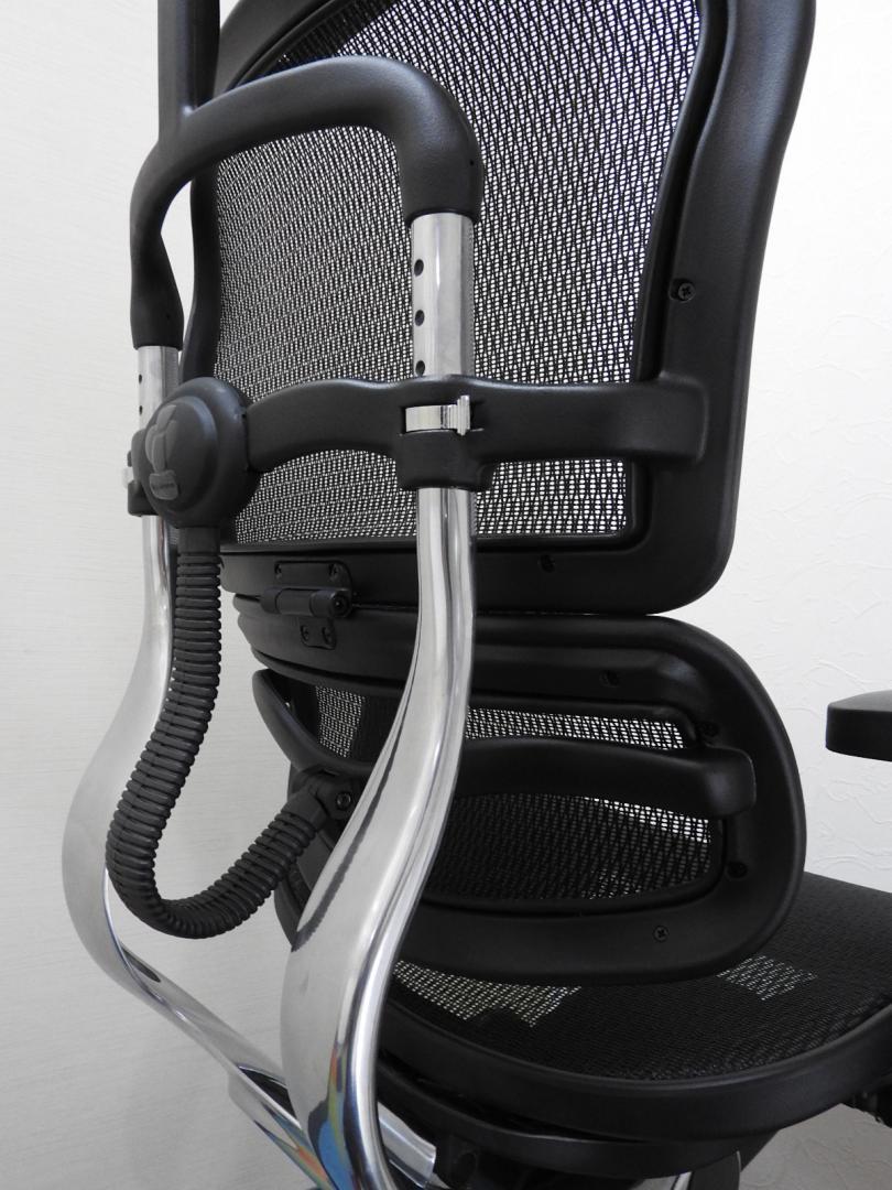 【新古品】=エルゴヒューマン(ベーシック)=抜群の座り心地!高級メッシュチェア!|Ergohuman Basic
