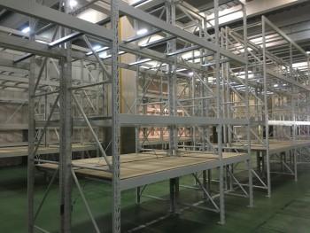 パレットラックM 天地2段 W3000 耐荷重:段2000kg