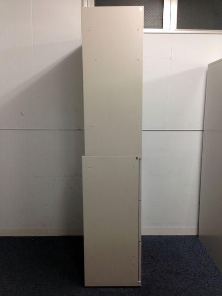【スリムサイズがポイントのA4収納書庫】6セット入荷!|上段がオープンタイプ(扉を外したタイプ)|SAシリーズ(中古)