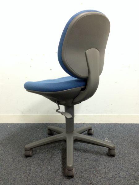 【内田洋行の長く愛され続けている事務椅子シリーズ|大量入荷しました】リクライニング固定機能付き||ジャストチェア[JUST](中古)